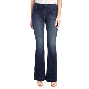 NWT Lucky Brand Brooke Flare Darkwash Jeans